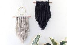 Weaving / Tissage / weaving • color • cotton • wool • tissage • couleur • coton • laine • matière