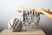 Knitting / Tricot / knitting • wool • yarn • patterns • tricot • laine • fils