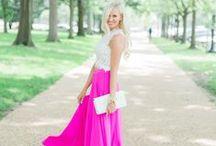 Fashion / Feminine fashion is my FAVORITE!