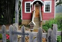 dream houses/gardens