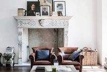Cast Stone Fireplace Mantels / Cast stone is an affordable alternative to solid stone mantels that is lightweight and looks great for your fireplace mantel.