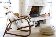 Modern Mantels & Rooms / A board dedicated to modern fireplaces and cool photos of our favorite element...fire!