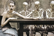 The Macabre, Dark & Lovely / High-fashion editorial and hauntingly beautiful imagery