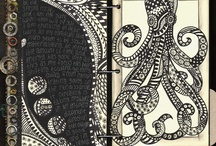 Tangles and journals / Zentangle inspired art, art journals, and mixed media inspiration and tutorials / by Teresa Davis