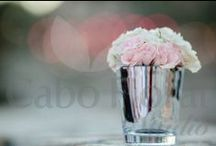 Cocktail Centerpieces / www.cabofloralstudio.com