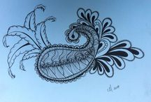 Zentangle / Zentangles from the right side of my brain / by Cheryl Mouncey