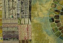 Fibre art / Mixed media...embroidery...appliqué....mixed media / by Julie Hunter