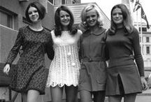 1968 / Fashions of the late 1960s.  Reference for a design project.