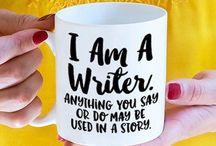 Gifts for Writers / Cute, clever, and totally necessary gifts for writers <wink> #writerslife