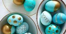 Ostern - DIY Deko-Ideen zum selber machen / Hier findest du tolle DIY Deko Ideen zu Ostern zum selbst basteln.