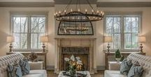 Gorgeous Living/Family Rooms / Swoon worthy rooms that will inspire ideas for yours.