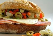 Sandwiches, Burgers, Panini and Wraps...Oh My! / great for lunch, dinner, or on the go / by Renée