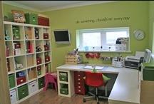 Craft rooms, organization