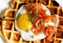 Food: Breakfast / Breakfast foods.