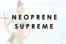 Neoprene Supreme / Beach Bunny Swimwear's Spring 2014 Bronze Collection ft. Nina Agdal
