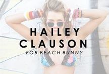 Hailey Clauson for Beach Bunny Swimwear / Meet the newest babe to join our bunny family!  / by Beach Bunny Swimwear