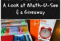 Homeschool: Math / Math curriculum & ideas