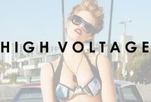 High Voltage / All new Beach Bunny Swimwear Collection featuring Hailey Clauson