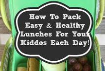 School Lunch / school lunch ideas / by My Life as a Rinnagade