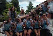 #PantherPins / Curious as to which pictures with the Panther Statue are our FAVORITES? Here they are!   Want to be added to the bunch? E-Mail your #AUPantherPins to socmed@adelphi.edu