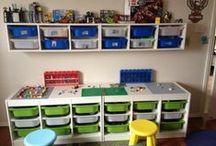 The Lego Room / Room decor, shelving...all things lego / by My Life as a Rinnagade