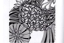 Zentangle / Zentangle and meditative drawing stuff