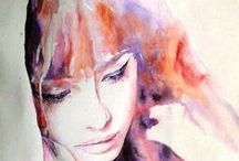 Watercolour / Tips, tricks, tutorials, and beautiful inspiration all having to do with watercolour