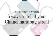 Authenticate Designer Bags / Learn from our experts how to authenticate designer handbags, accessories and RTW by Chanel, Louis Vuitton, Hermès and more. / by The RealReal