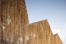 exterior // wood