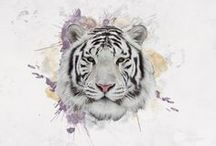 White Tiger Collection / AWS / Beautiful skincare products designed by artist and Aesthetician Alexandra Wagner that promise to deliver clean bright and hydrated skin