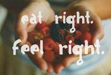 """Food is Medicine. / """"Don't make life harder, live healthy. """""""