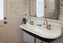 bathrooms. / by Amy Guhl