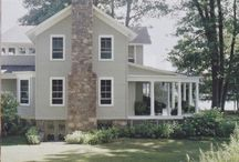 residential exteriors. / by Amy Guhl