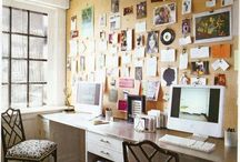 work spaces. / by Amy Guhl