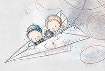 ♥ Illustrations / by Geraldine Soh