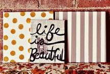 creative & artsy. / by Jessie Krauss