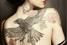 Body Art / Amazing tattoos as inspiration for print and illustration.
