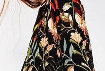 Florals / Dark Base / Opulent and baroque floral prints and patterns on dark grounds.