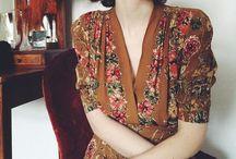 Vintage / Original vintage and vintage-inspired prints and patterns.