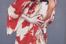Kimono / Beautiful asian inspired prints & patterns.