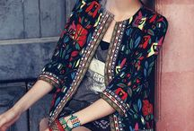 Folk / Traditional and stylized folkloric prints and patterns for fashion, interior and stationery.
