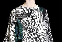 Linear / Geometric and handcrafted linear prints and patterns.