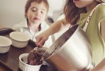 Cooking with Children / Teaching the basics, turning food into fun edibles, and learning the value of being in the kitchen together as a family. / by Shawn Fink | Abundant Mama