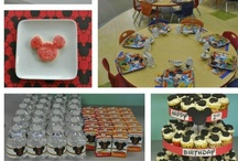 Kid Birthday Ideas / Trains, Mickey Mouse, and more!