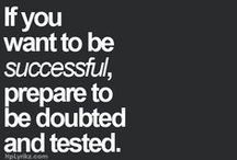 Motivation | Inspiration | Success Quotes. / My favorite Success driven quotes for the motivated female. <3