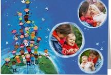 PhotoBox pour l'UNICEF / Découvrez les cartes de voeux personnalisables avec vos photos, au profit de l'UNICEF