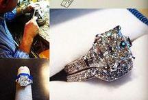 Custom design / Custom jewelry design and Bromberg's Master Jeweler Philip Flenniken