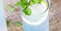 Delicious Drinks. / Simple drink recipes | refreshing summer drinks | healthy drink recipes | alcoholic | paleo