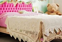 ::Girls' Bedroom:: / Design inspiration and color schemes a girls room.