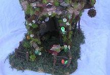 fairy houses / by Lynda Chittenden Weathersbee